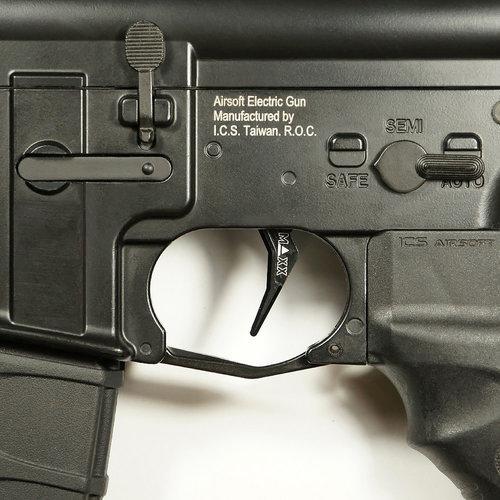 MAXX Model MAXX Model CNC Aluminum Advanced Trigger (Style B) : Zwart