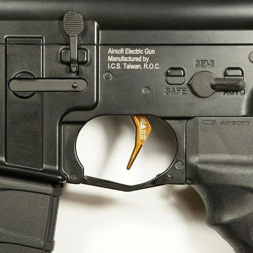MAXX Model CNC Aluminum Advanced Trigger (Style B) : Dark Earth