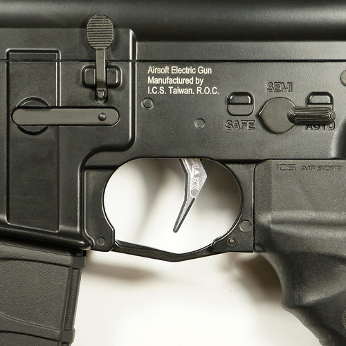 MAXX Model MAXX Model CNC Aluminum Advanced Trigger (Style B) : Chroom