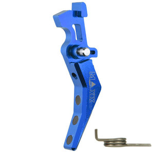 MAXX Model CNC Aluminum Advanced Trigger (Style B) : Blauw