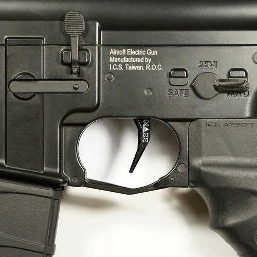 MAXX Model MAXX Model CNC Aluminum Advanced Trigger (Style C) : Zwart