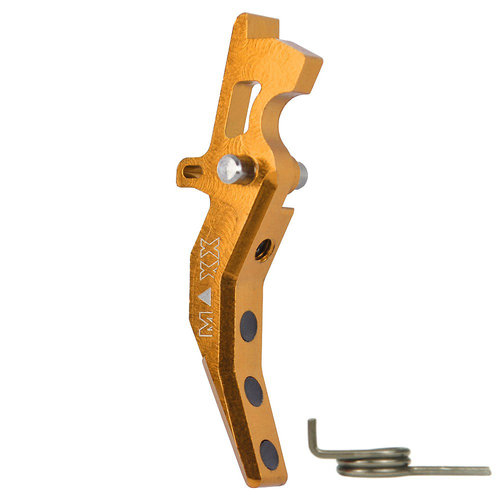 MAXX Model MAXX Model CNC Aluminum Advanced Trigger (Style C) : Dark Earth