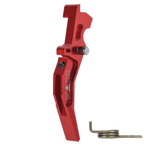 MAXX Model MAXX Model CNC Aluminum Advanced Trigger (Style C) : Rood