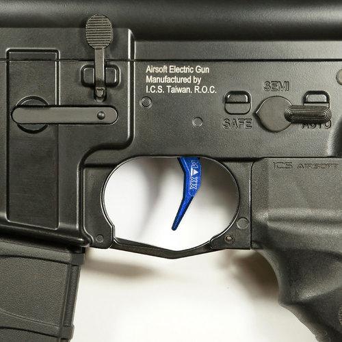 MAXX Model MAXX Model CNC Aluminum Advanced Trigger (Style C) : Blauw