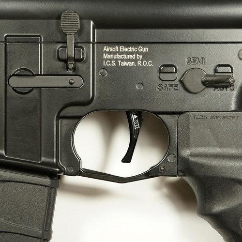MAXX Model MAXX Model CNC Aluminum Advanced Trigger (Style D) : Zwart