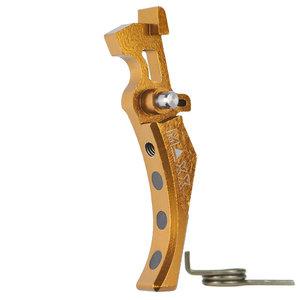 MAXX Model CNC Aluminum Advanced Trigger (Style D) : Dark Earth