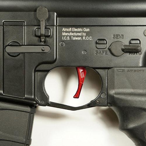 MAXX Model MAXX Model CNC Aluminum Advanced Trigger (Style D) : Rood