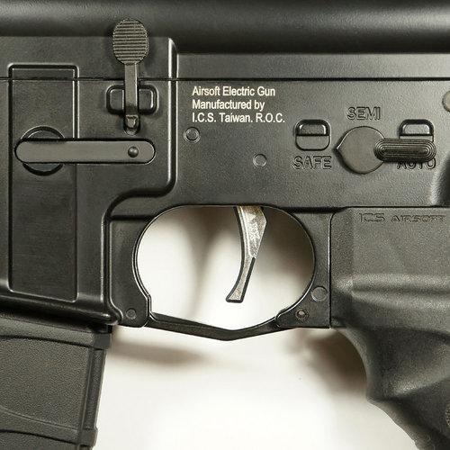 MAXX Model CNC Aluminum Advanced Trigger (Style D) : Chroom