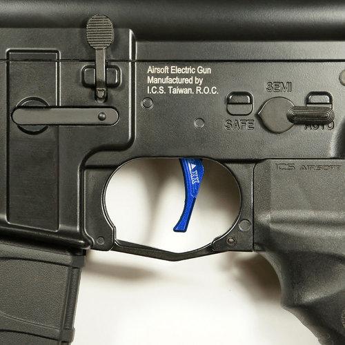 MAXX Model MAXX Model CNC Aluminum Advanced Trigger (Style D) : Blauw