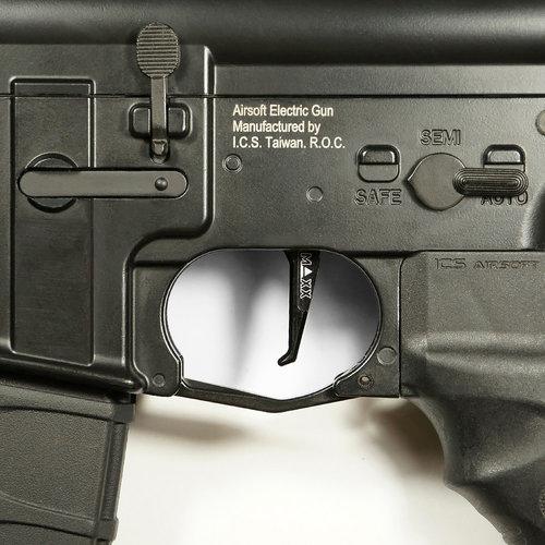 MAXX Model MAXX Model CNC Aluminum Advanced Trigger (Style E) : Zwart