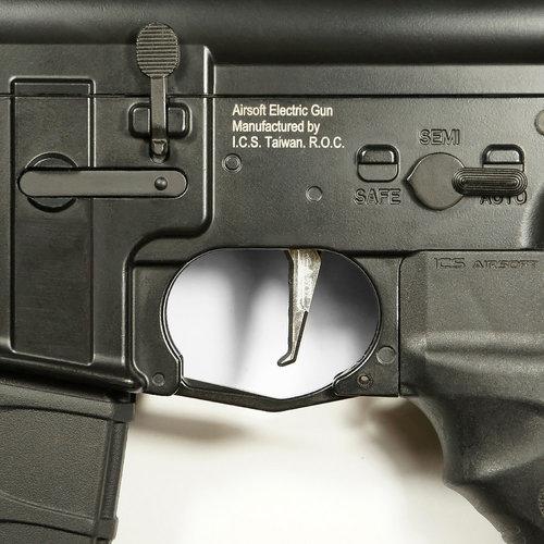 MAXX Model MAXX Model CNC Aluminum Advanced Trigger (Style E) : Chroom