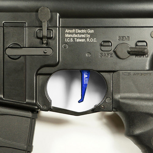 MAXX Model MAXX Model CNC Aluminum Advanced Trigger (Style E) : Blauw