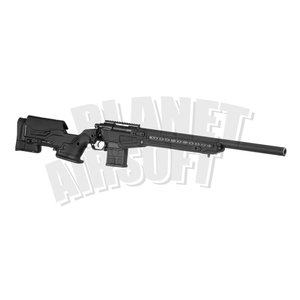 Action Army AAC T10 Bolt Action Sniper Rifle : Zwart