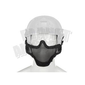 Invader Gear Steel Half Face Mask FAST Version ( Black )