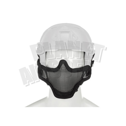 Invader Gear Invader Gear Steel Half Face Mask FAST Version : Zwart