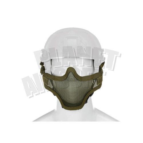 Invader Gear Invader Gear Steel Half Face Mask FAST Version : Olive Drap