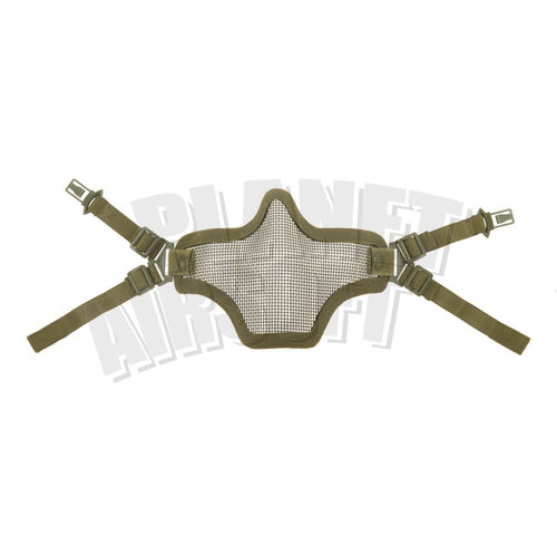 Invader Gear Steel Half Face Mask FAST Version ( Olive Drap )