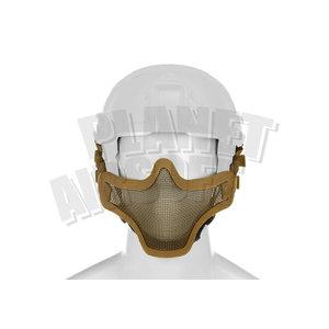Invader Gear Steel Half Face Mask FAST Version : Coyote Bruin