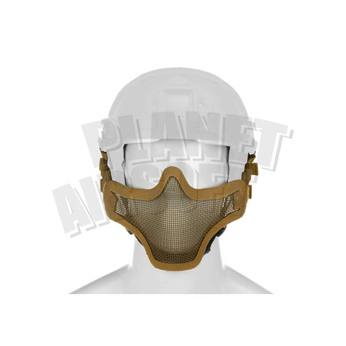 Invader Gear Invader Gear Steel Half Face Mask FAST Version : Coyote Bruin