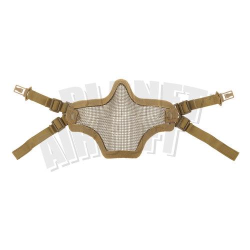 Invader Gear Invader Gear Steel Half Face Mask FAST Version : Coyote Bruin