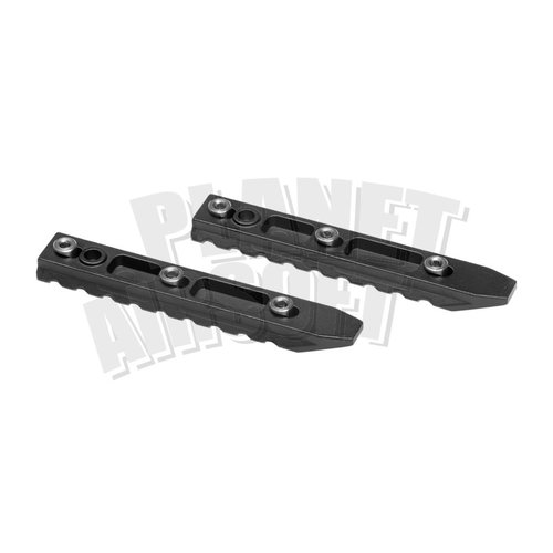 Ares / Amoeba OctaArms/Ares 4.5 Inch Keymod Rail 2-Pack