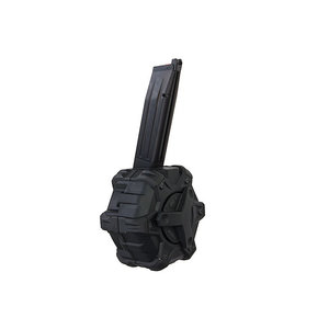 Armorer Works Armorer Works Adaptive Drum Magazine - HX-Series (Hi-Capa) Black