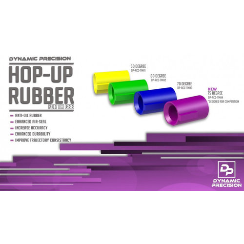 Dynamic Precision Dynamic Precision Hop-Up Rubber  For TM GBB 75 Degree