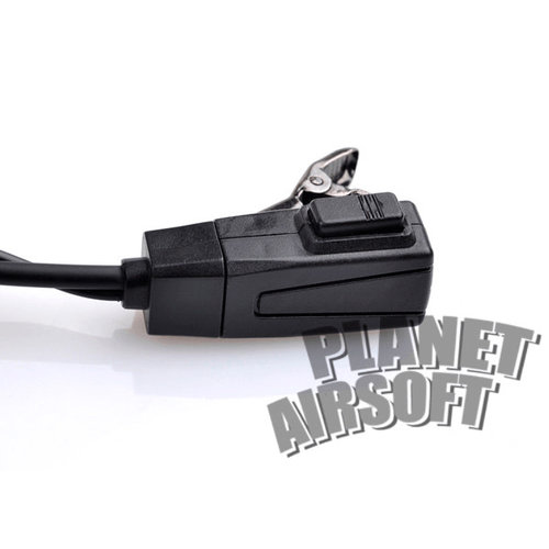 Z-Tactical FBI Style Acoustic Headset Kenwood Connector