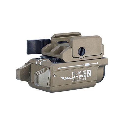 Olight Olight PL-Mini 2 VALKYRIE Rechargeable Weaponlight Tan