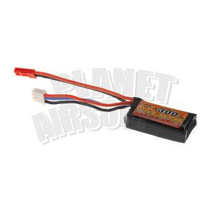 VB Power Lipo 7.4V 300mAh 35C/70C (HPA - JST Connector)