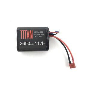 Titan Power Titan 2600MAH 11.1V Brick Airsoft Battery T-Plug (Deans)