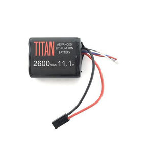 Titan Power Titan 2600MAH 11.1V Brick Airsoft Battery Tamiya