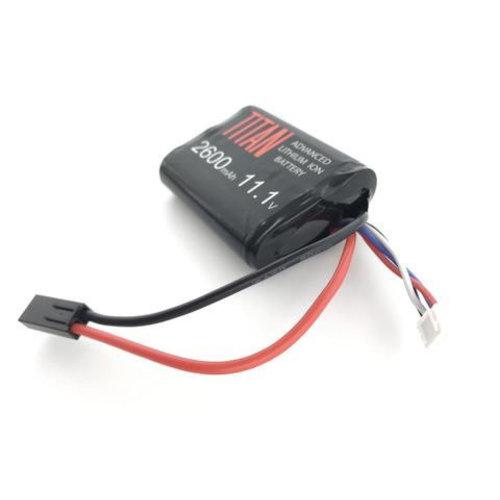 Titan Power Titan 2600MAH 11.1V Brick Airsoft Battery Tamiya