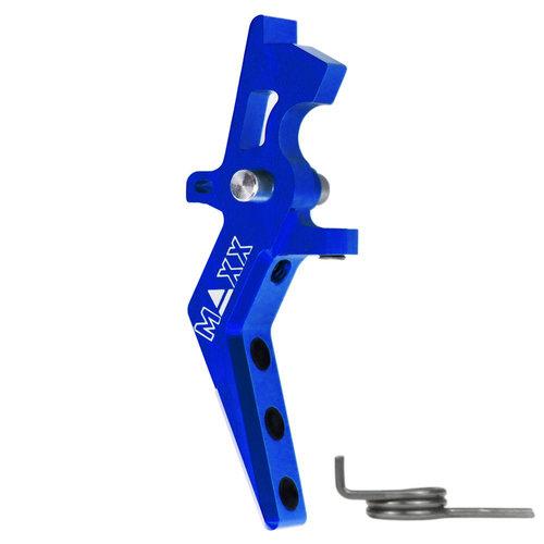 MAXX Model CNC Aluminum Advanced Speed Trigger (Style A) : Blauw