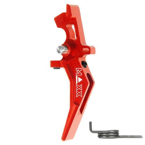 MAXX Model MAXX Model CNC Aluminum Advanced Speed Trigger (Style B) : Rood