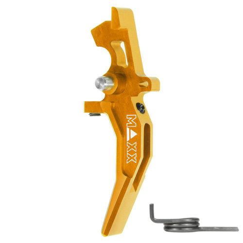 MAXX Model MAXX Model CNC Aluminum Advanced Speed Trigger (Style C) : Dark Earth