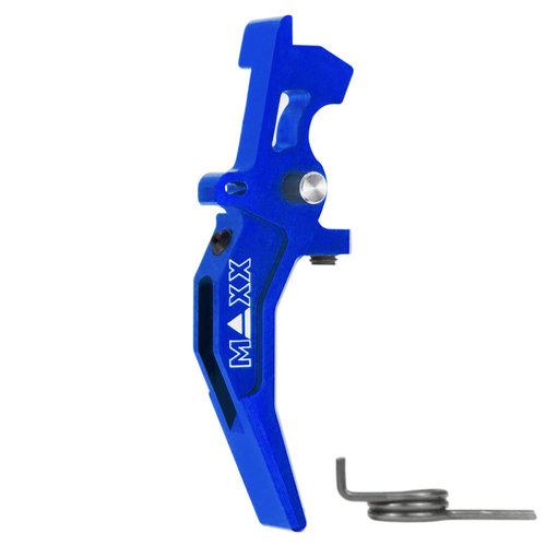 MAXX Model MAXX Model CNC Aluminum Advanced Speed Trigger (Style C) : Blauw