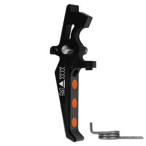 MAXX Model CNC Aluminum Advanced Speed Trigger (Style E) : Zwart