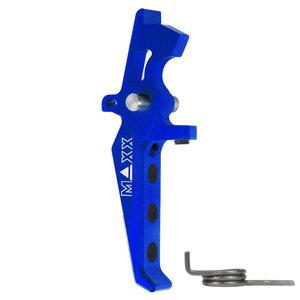MAXX Model MAXX Model CNC Aluminum Advanced Speed Trigger (Style E) : Blauw