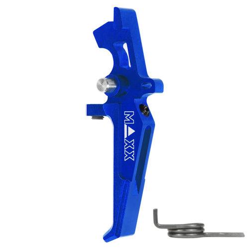 MAXX Model CNC Aluminum Advanced Speed Trigger (Style E) : Blauw