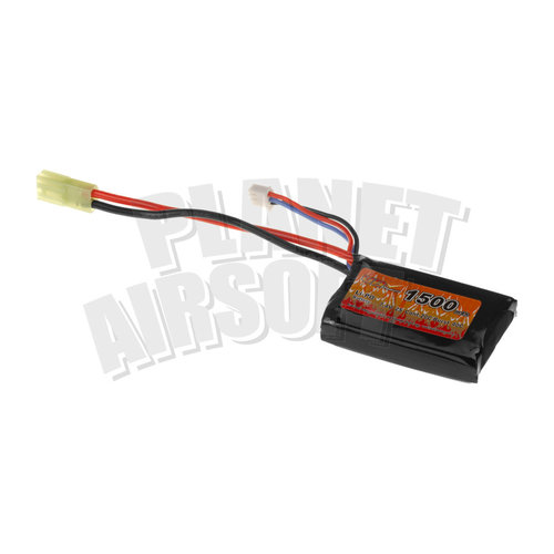 VB Power VB Power Lipo 7.4V 1500mAh 20C PEQ Type