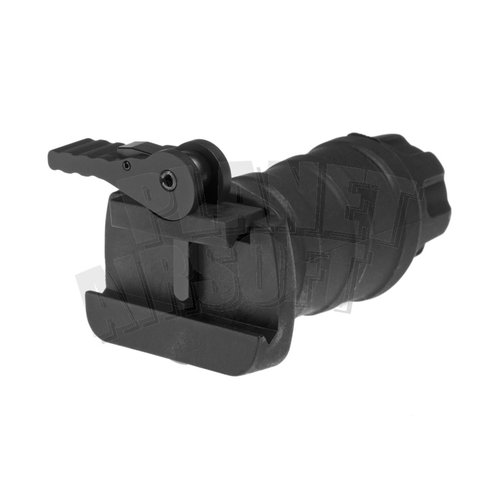 FMA FMA Short Vertical Grip QD : Zwart