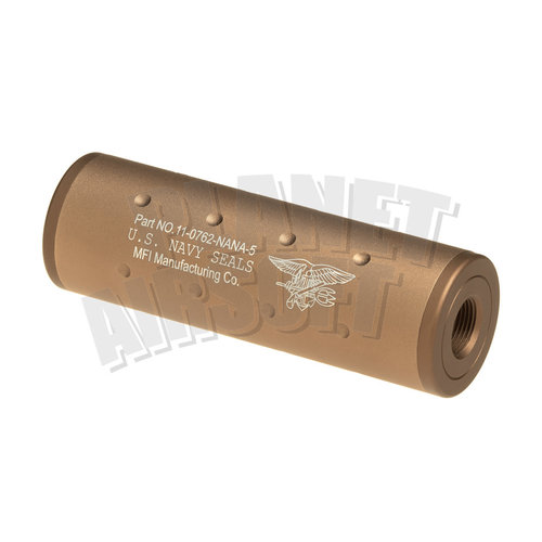 FMA FMA 107mm Navy Seals Silencer CW/CCW : Desert