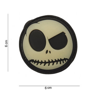 101 Inc. 101 Inc. Patch 3D PVC big nightmare smiley - 12008