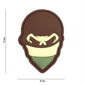 101 Inc. Embleem 3D PVC Polish skull balaclaca multi - 2103