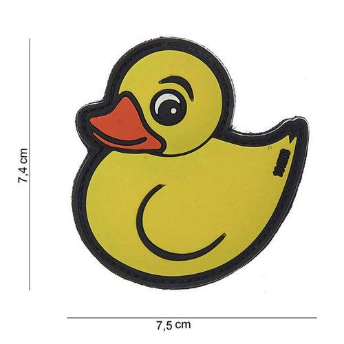 101 Inc. 101 Inc. Embleem 3D PVC Rubber Duck geel - 10051