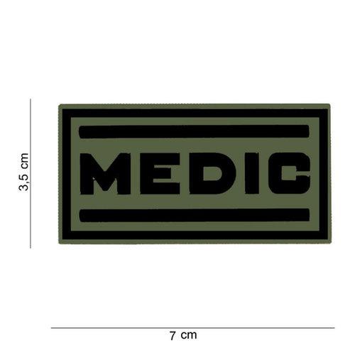101 Inc. 101 Inc. Embleem 3D PVC Medic - 12037