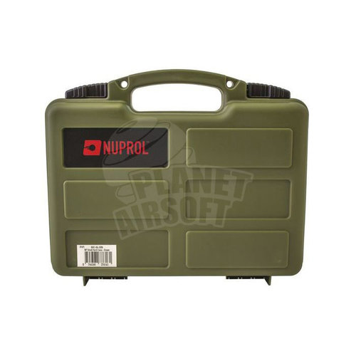 Nuprol Nuprol Hard Case Small Wave Foam : Olive Drap