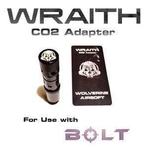 Wolverine Wolverine Airsoft Wraith: CO2 Adapter