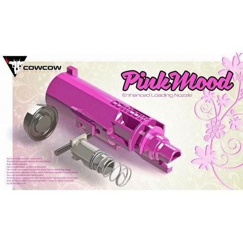 COWCOW Technology PinkMood Enhanced Loading Nozzle Set for Hi-Capa / 1911